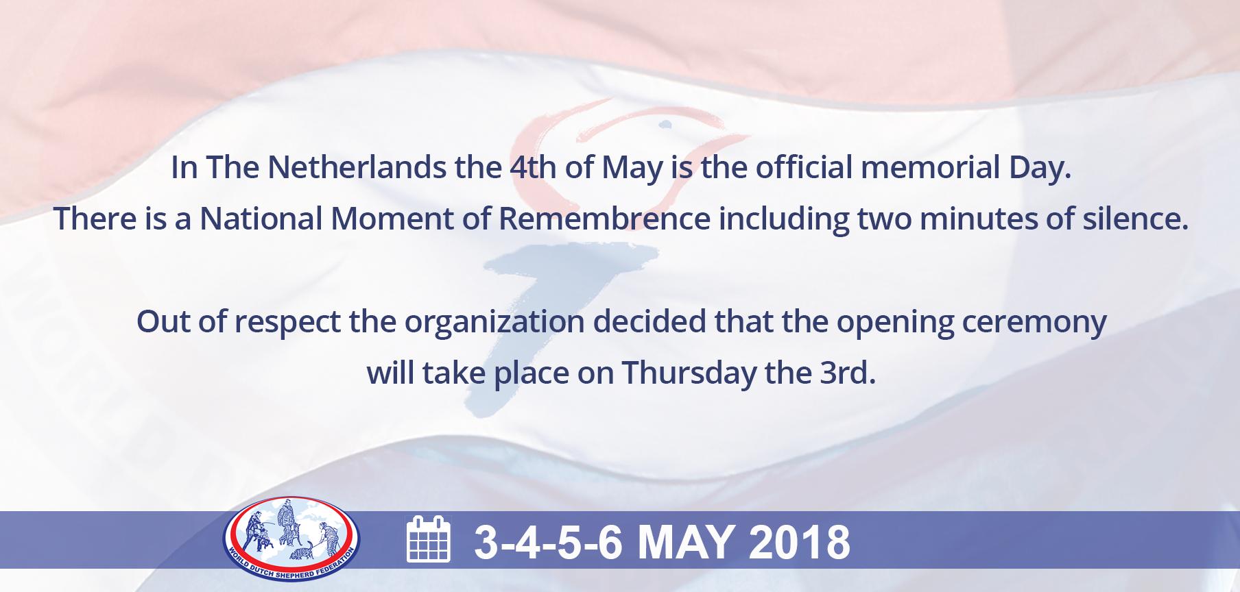 3rd of May