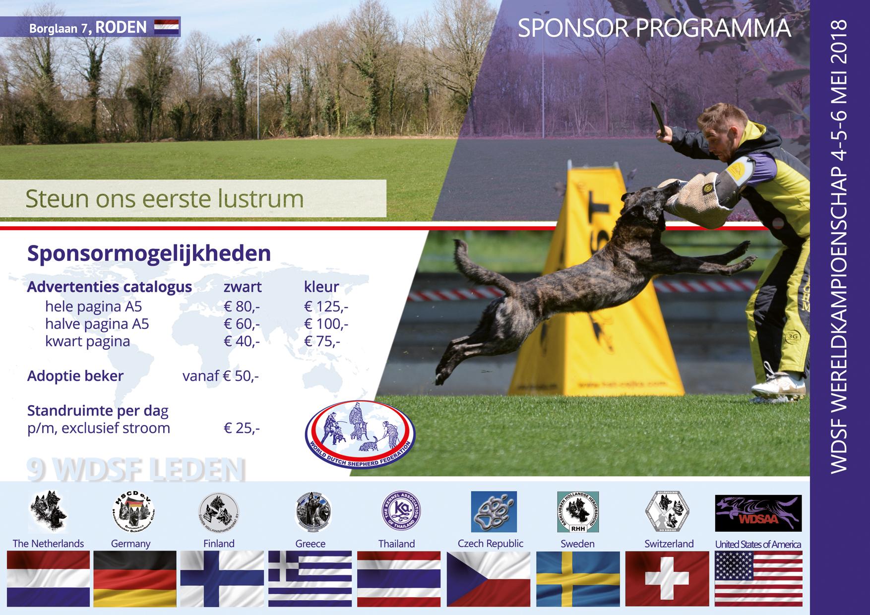Sponsoring NL 1