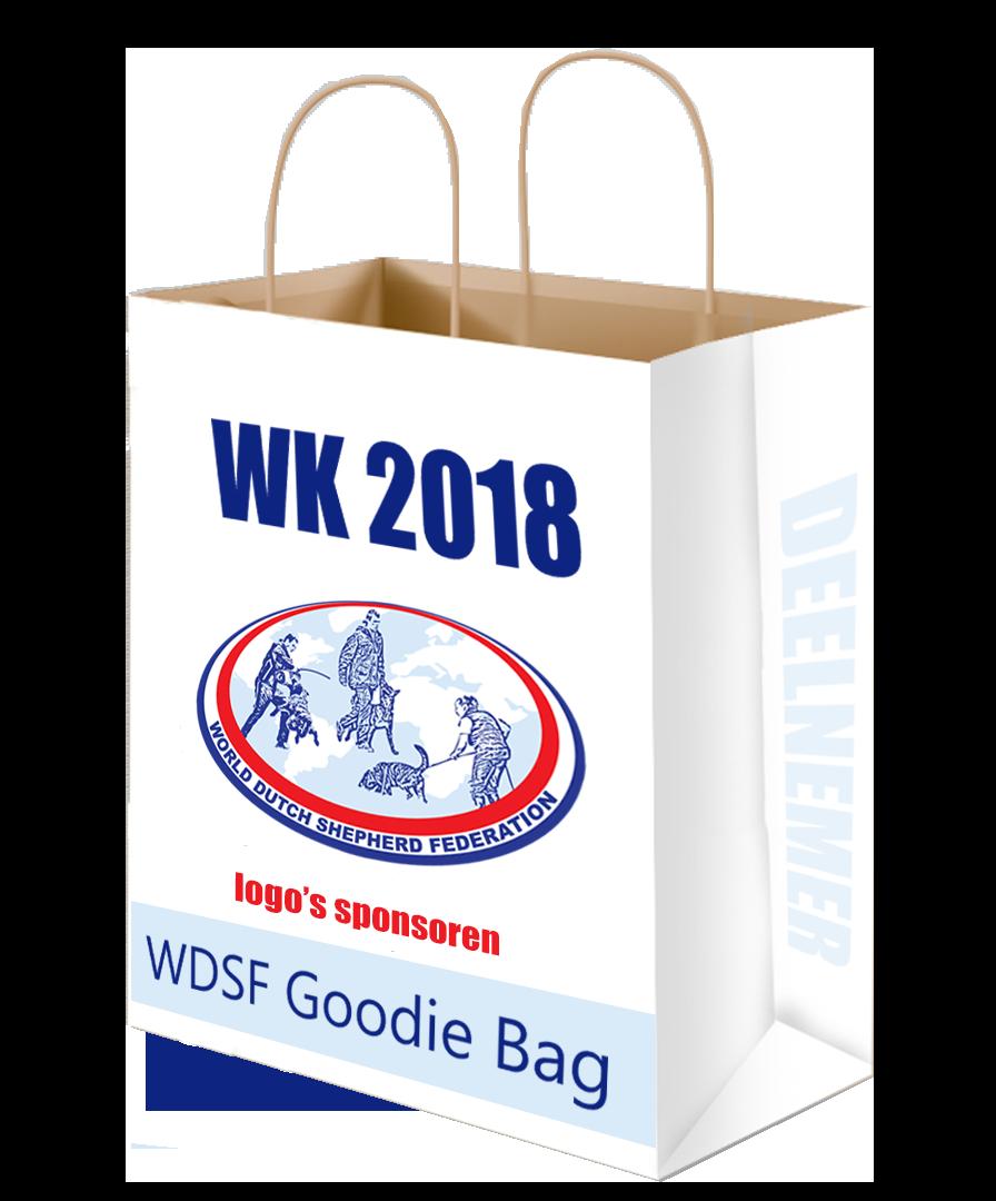 U kunt bijvoorbeeld onze Goodie Bag met uw unieke product vullen