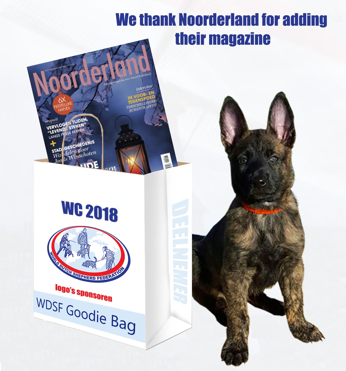 goodie bag noorderland thank you